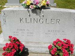 John O Klingler