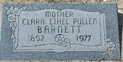 Clara Ethel <I>Pullen</I> Barnett