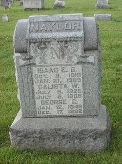 Dr Isaac E. G. Naylor