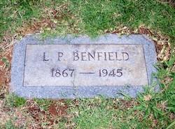 """Alonzo Patrick """"Lon"""" Benfield"""