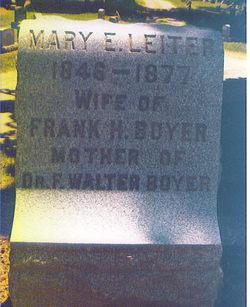 Mary E. <I>Leiter</I> Boyer