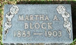 Martha Augusta Block