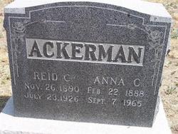 Anna C Ackerman