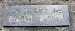 Asa Jacob Baker