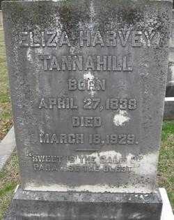 "Elizabeth Harvey ""Eliza"" Tannahill"
