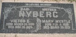 Mary Myrtle <I>Madsen</I> Nyberg