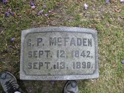Pvt Gorham P McFaden