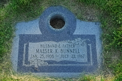 Maeser Kendall Bunnell