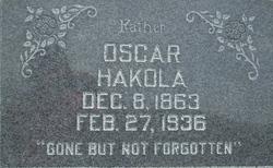 Oscar K Hakola