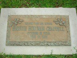 Elouise <I>Hortman</I> Chappell
