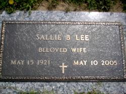 Sallie B Lee