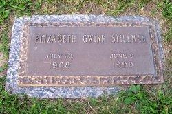 Elizabeth <I>Gwinn</I> Stillman