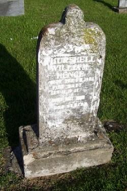 Hurshell William Hence