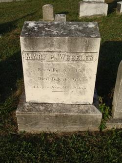 Mary E. Wheeler