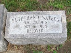 Ruth Irene <I>Hand</I> Waters