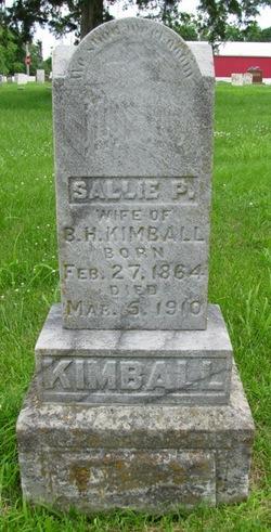 Sallie P. <I>Herring</I> Kimball