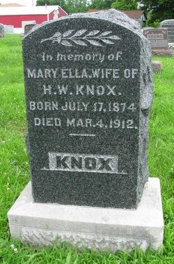 Mary Ella Knox