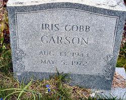 Iris <I>Cobb</I> Carson