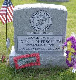 "Corp John L ""Jackie"" Puerschner"