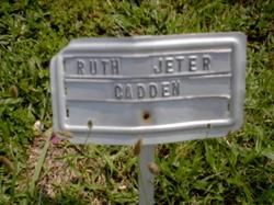 Ruth Jeter Cadden