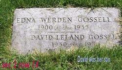 Edna <I>Werden</I> Gossell