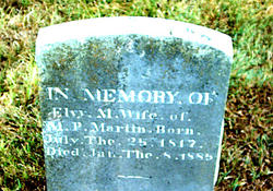 Elvy M. Martin