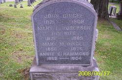 Mary E <I>Roberson</I> Dingee