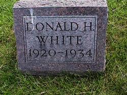 Donald H White
