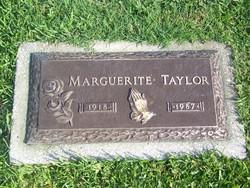 Marguerite Taylor