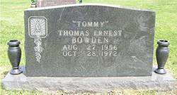 "Thomas Ernest ""Tommy"" Bowden"