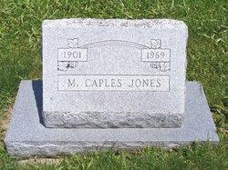 M Caples Jones