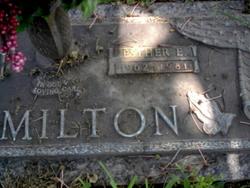 Esther E Hamilton