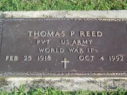 Thomas P Reed
