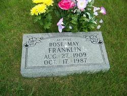 Rose May <I>Bertram</I> Franklin
