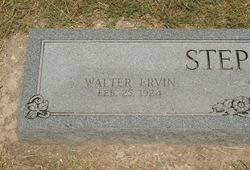 Walter Ervin Stephens