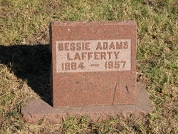 Bessie S <I>Adams</I> Lafferty