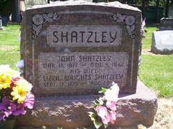 Lizzie Jane <I>Wrights</I> Shatzley