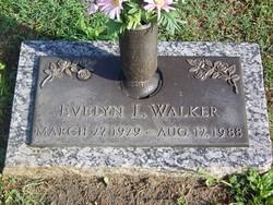 Evelyn L Walker