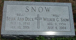 "Wilbur G ""Will"" Snow"