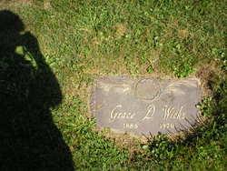 Grace C. <I>Daughaday</I> Wicks