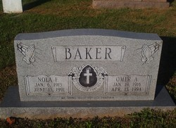 Nola Faye <I>Smith</I> Baker