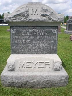 Helene Maria <I>Wehrenberg</I> Meyer