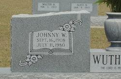 Johnny W. Wuthrich