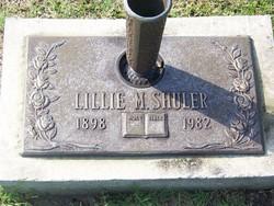 Lillie M Shuler