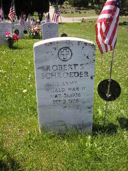 Robert S Schroeder