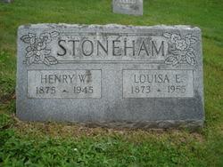 Louisa Elizabeth <I>Hurrell</I> Stoneham