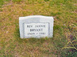 Rev Jannie Bryant