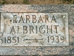 Barbara Hannah <I>Loeffler</I> Albright