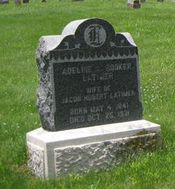 Adeline A <I>Booker</I> Latimer