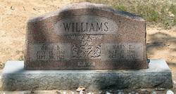 Mary Elizabeth <I>Ballard</I> Williams